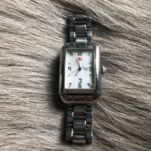 Michele Milou Park Stainless Steel Watch